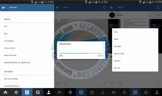 download Instagram Mod Plus + OGInsta Clone Full Fitur Versi 2.70.0 Apk