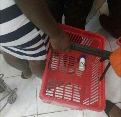 "See what a lady bought in Shoprite after ""shopping"" for hours"