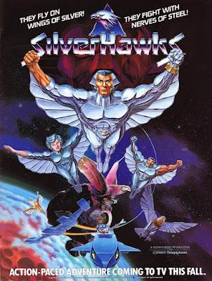 TAlly hawks,wing the silver,silverhakws,kartun silverhawks