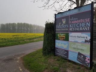 Fletchers Family Garden Centre in Eccleshall, Staffordshire