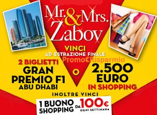 Logo Vinci carnet Ticket Compliments da 100 euro, Abu Dhabi e shopping a Milano