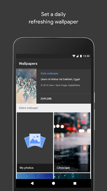 Wallpapers by google - geekyswap