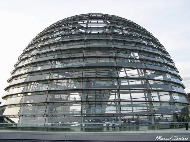 Berlino, cupola del Reichstag