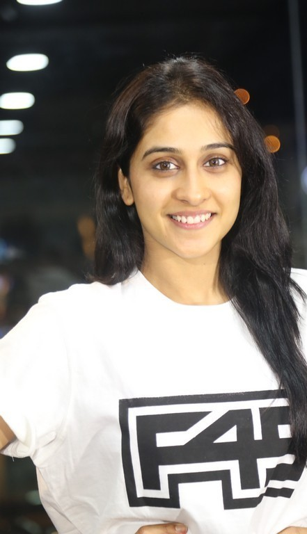 Regina Cassandra at Gym launch Stills