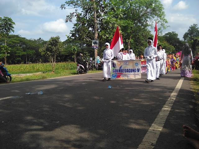 Foto Paling baru Karnaval 2016 SDN mulyoagung IV kecamatan singgahan
