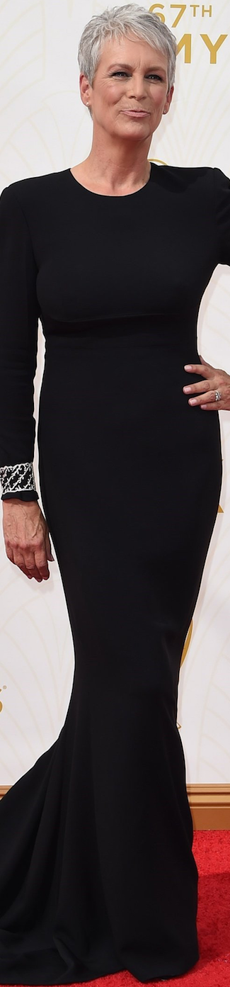Jamie Lee Curtis in Stella McCartney 2015 Emmy Awards