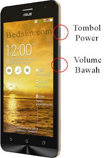 Cara Mengambil Screenshot di Asus Zenfone C