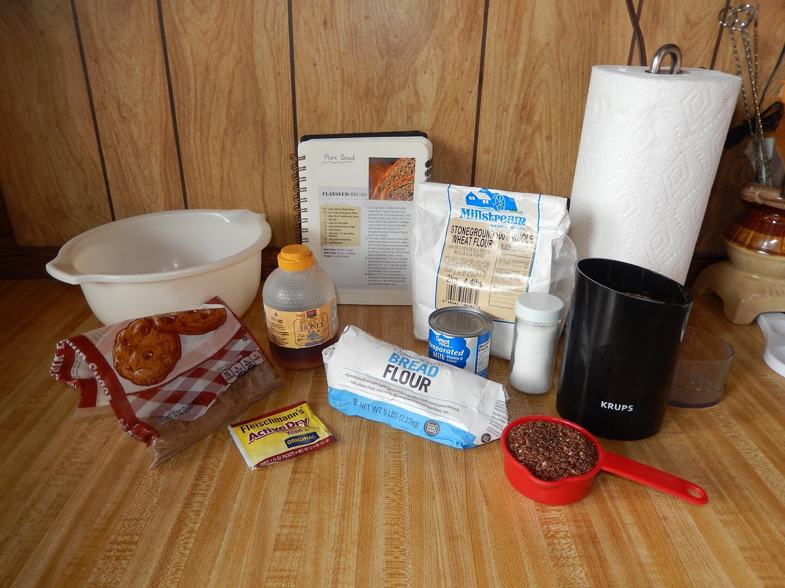 how to make flaxseed flour