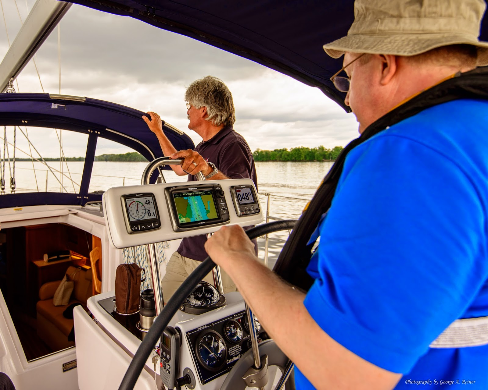 Sailing with George and Vicky: May 2014