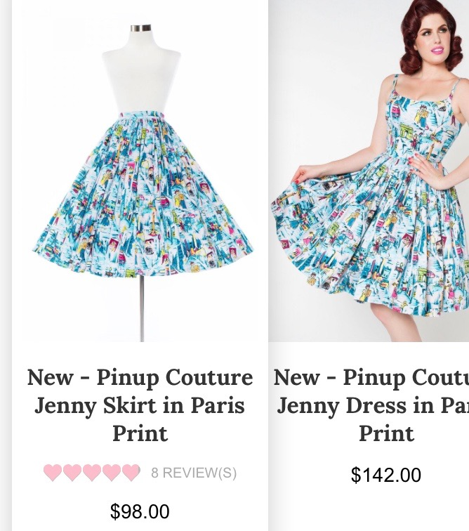 MammaTwoHoots : Paris Jenny from Pinup Girl Clothing