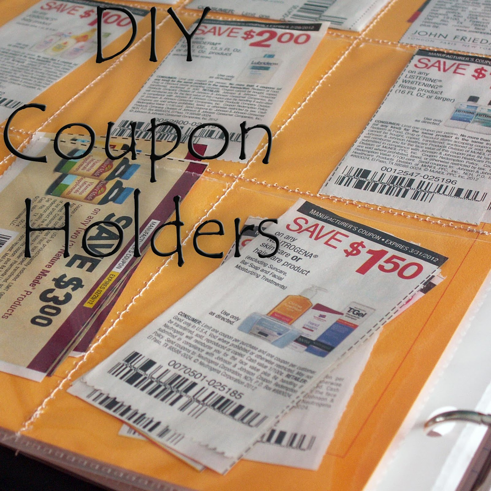 Taking Time To Create Page Protectors Double As Coupon