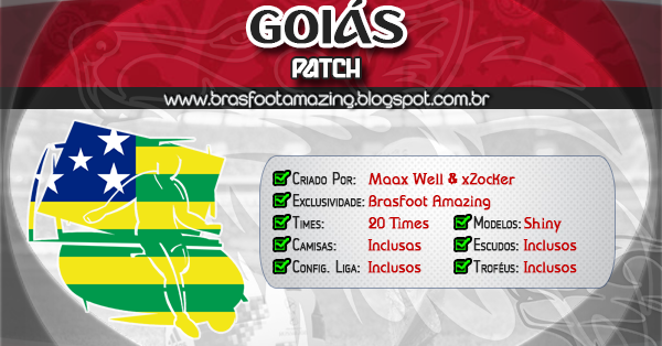 patch ligas brasfoot 2018
