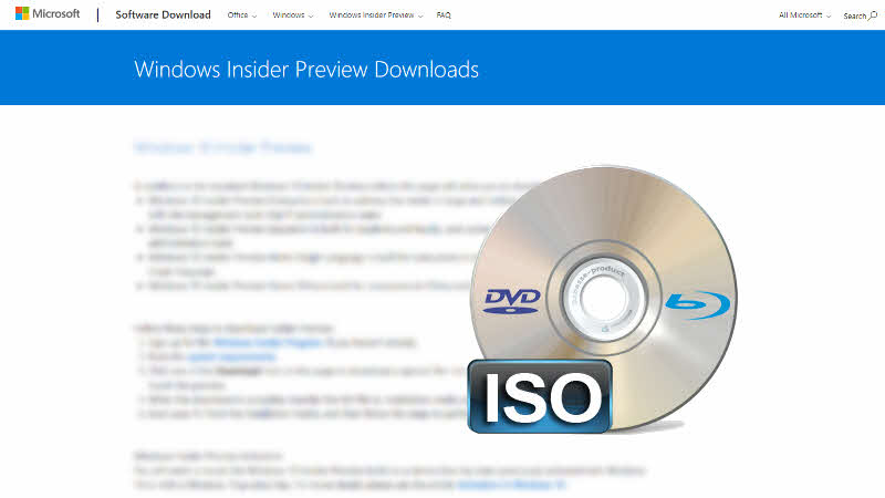 Windows Insiders, Windows 10 19H1 (build 18290) DVD/ISO images are now available for download