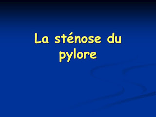 La sténose du pylore .pdf