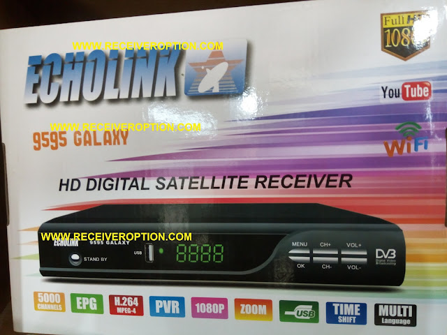 HOW TO ENTER POWERVU KEY IN ECHOLINK 9595 GALAXY HD RECEIVER