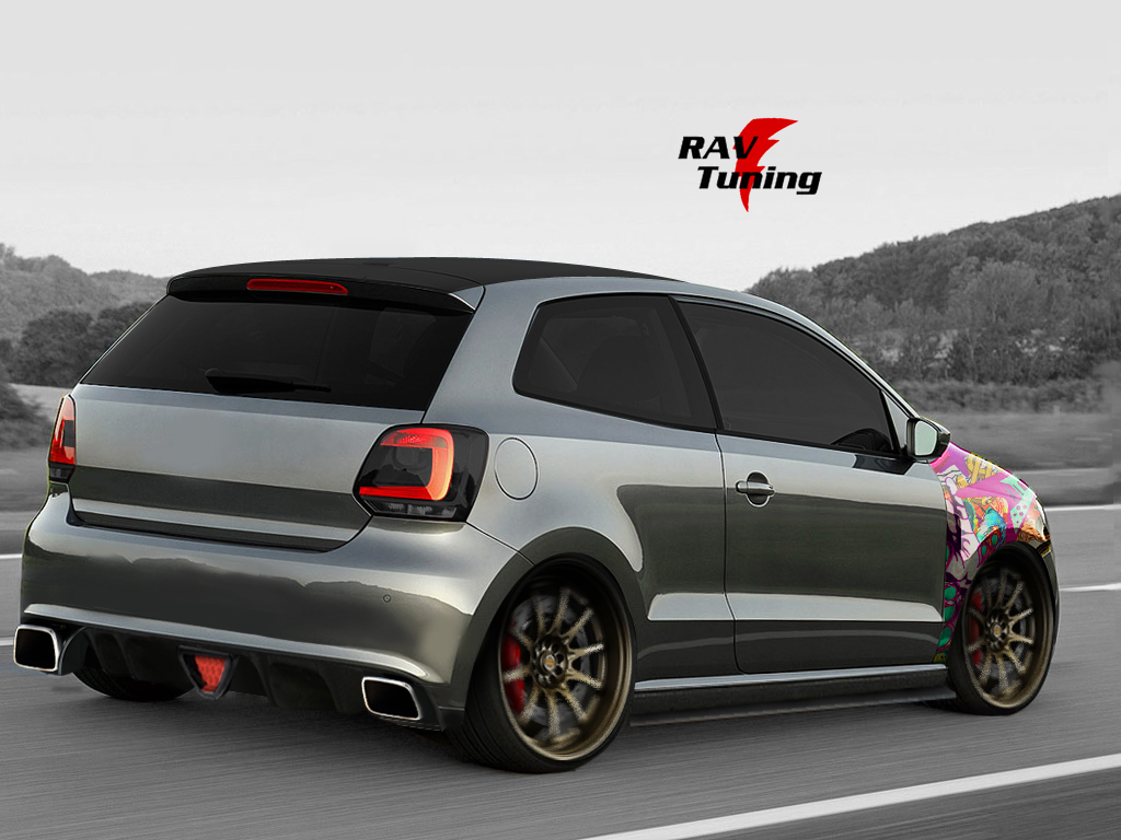 rav tuning vw polo once again. Black Bedroom Furniture Sets. Home Design Ideas