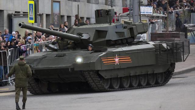 Primer tanque nuclear: Armata rusa podrá disparar proyectil nuclear
