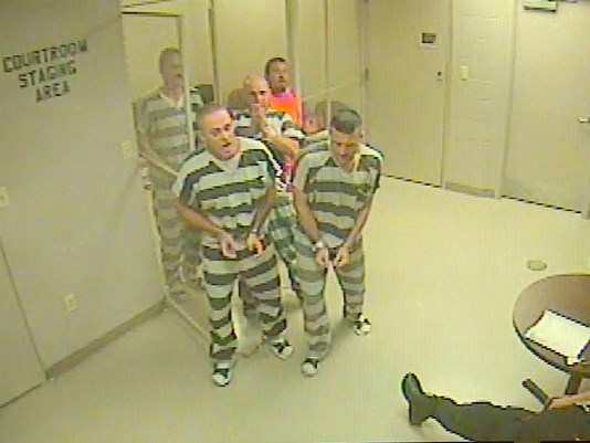 Inmates Break Out Of Jail To Save Life Of Officer Guarding Them – Must Watch