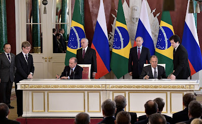 A number of bilateral documents were signed following Russian-Brazilian talks.