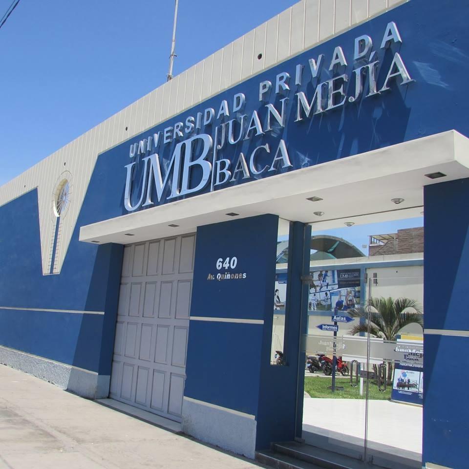 Universidad Privada Juan Mejía Baca - UMB