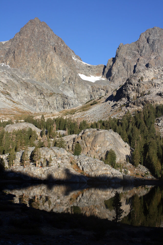 ediza lake ansel adams wilderness