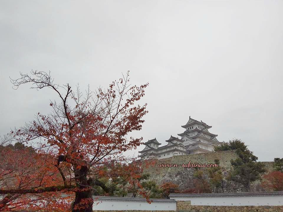 bercuti di Osaka keindahan istana bersejarah Himeji Castle