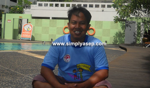 HARIS : Ini saya saat mengikuti MDGS di Hotel Haris Jakarta sekitar tahun 2005 yang lalu.  Foto Raymon Sembiring