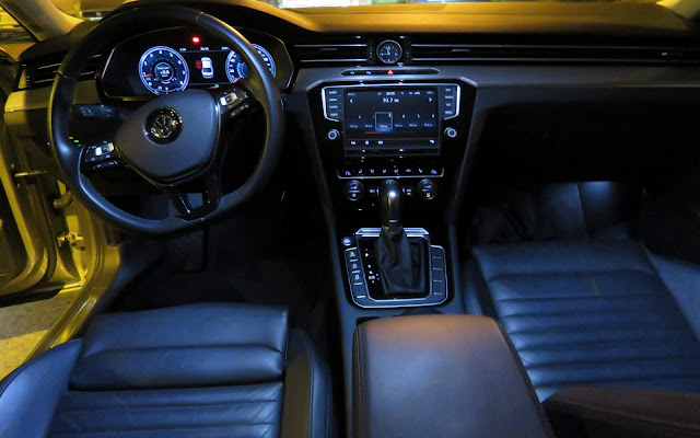 VW Passat Highline 2017 - interior - painel