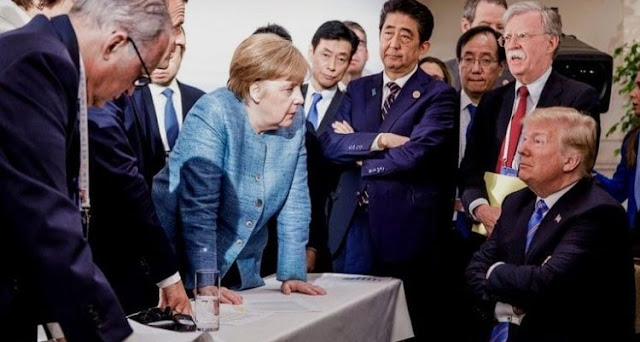 Sinirli Şansölye Merkel, Mızıkçı Başkan Trump: 2018'in G7 Zirvesi