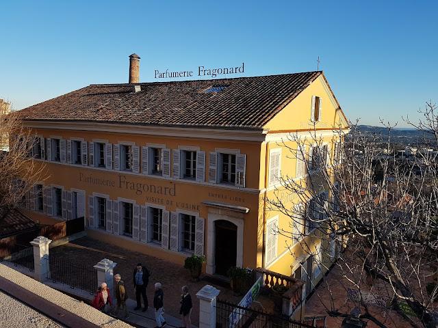 Fragonard factory in Grasse