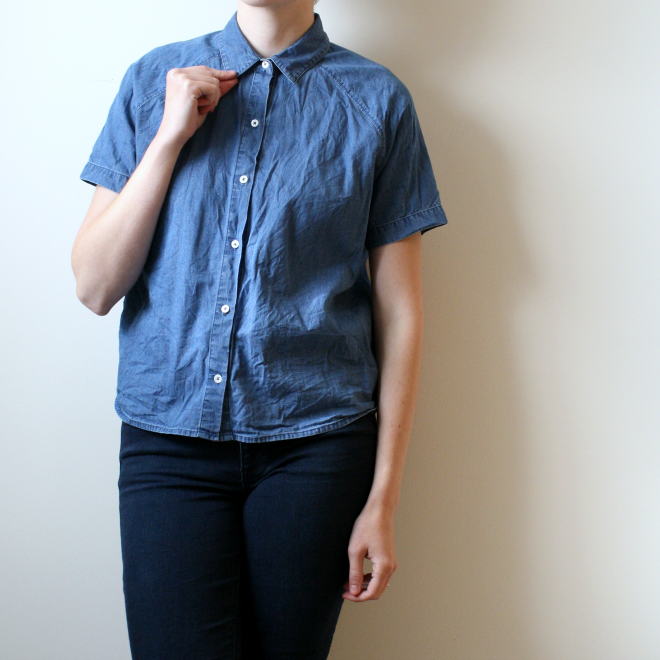 everlane chambray review