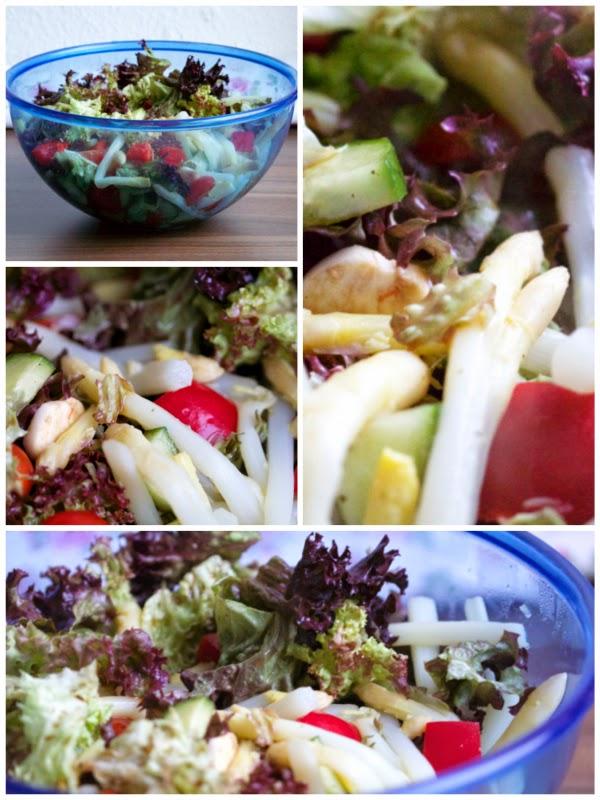 Spargel Yummie des Monats Salat Schnelle Gerichte