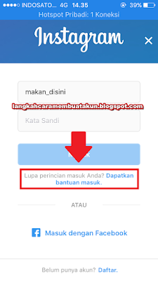 Cara Mengganti Password Instagram Tapi Lupa Password Lama