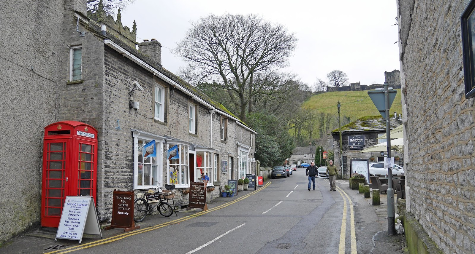 Castleton village, Peak District National Park
