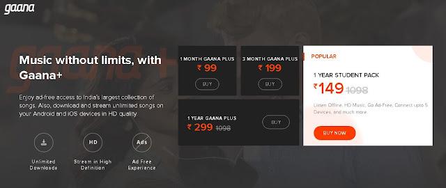 Spotify vs Gaana vs Jiosaavn In Hindi 2019 [Review]