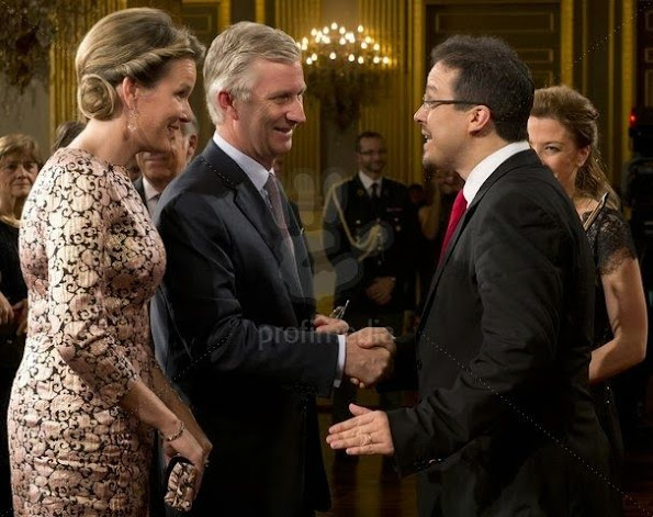 Belgian Royal Family attended a autumn concert and reception at the Royal Palace in Brussels