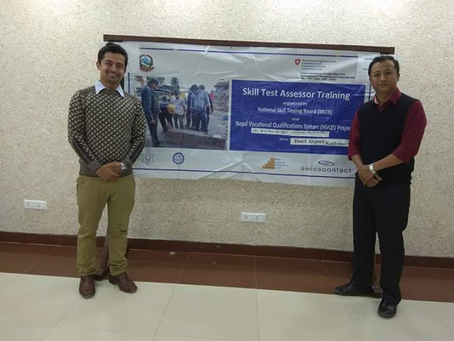 Assessors of Optical Dispenser training program of Nepal