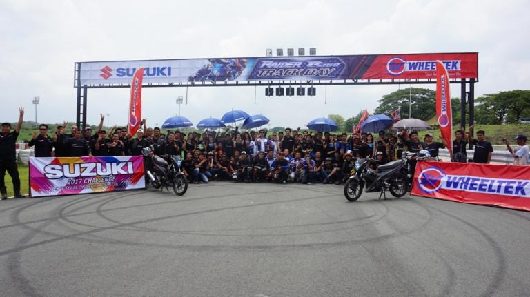 Action-Packed Wheeltek-Suzuki Raider R150 Track Day Held in Tarlac