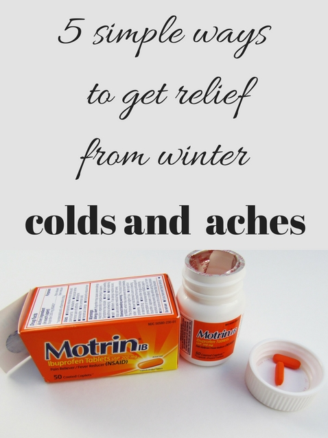 5 simple ways to get relief from winter colds and aches