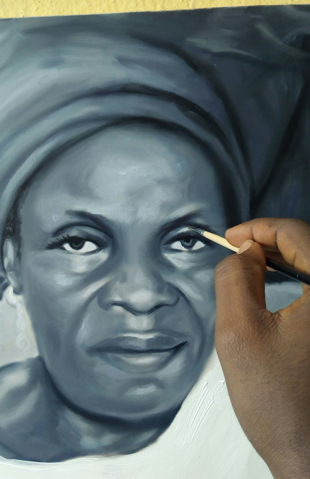 Art painting from nigeria