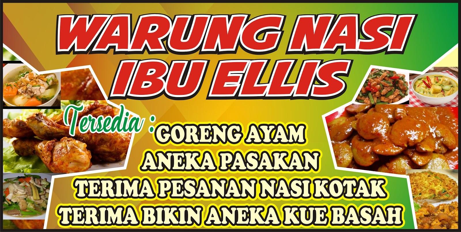 Download Kumpulan Contoh Spanduk Warung Nasi.cdr - KARYAKU