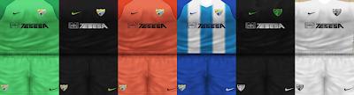 PES 6 Kits Malaga Season 2018/2019 by VillaPilla