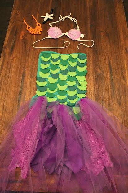 Domesticated Diva Trick Treat Diy Halloween Mermaid