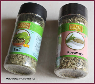 Haulpost featuring Basil and Rosemary dry leaves on Natural Beauty And Makeup blog