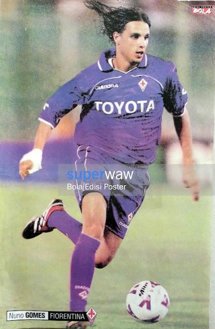 Poster Nuno Gomes (Fiorentina)