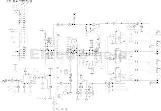 lcd tv inverter circuit board diagram wifi antenna circuit