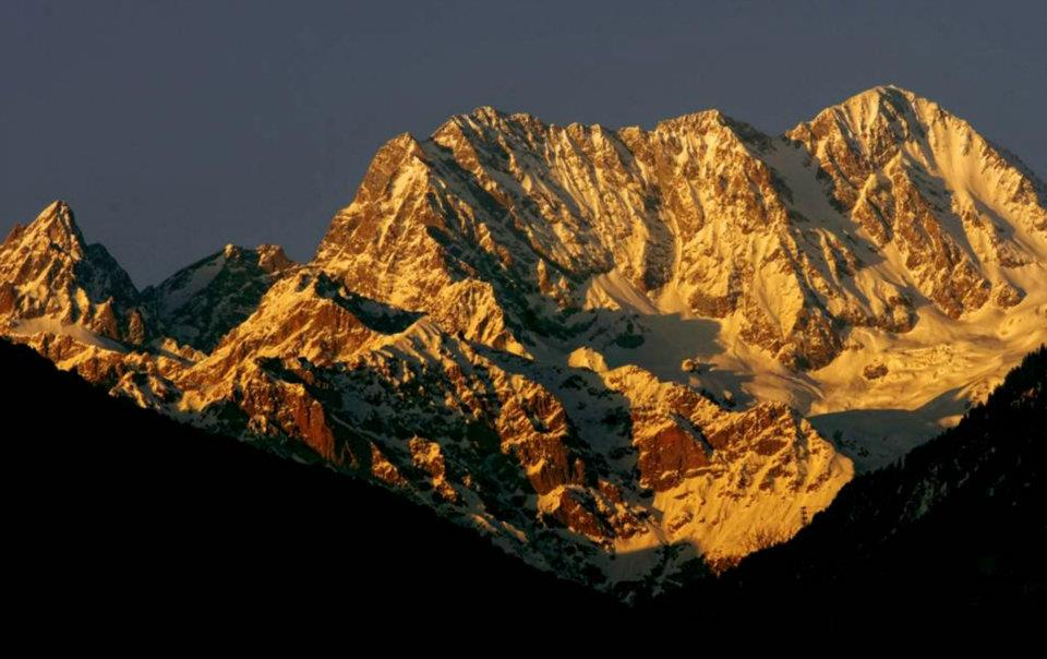 Mankial Mountain Range in Upper Swat Valley, Pakistan