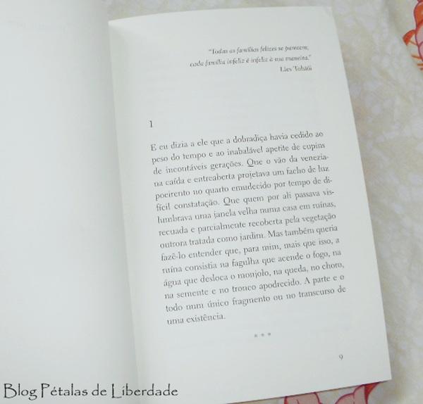 diagramação, trecho, livro, arco de virar reu