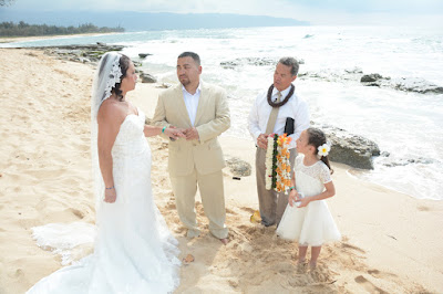 Papailoa Beach Wedding