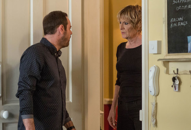 EastEnders Mick confronts Shirley